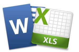 Пользователь ПК — работа с Microsoft Office Word, Microsoft Office Excel